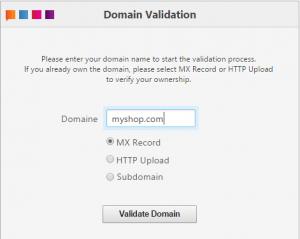 Domain val MX