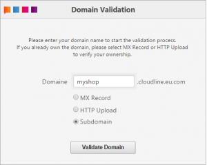 Domain val sub domain